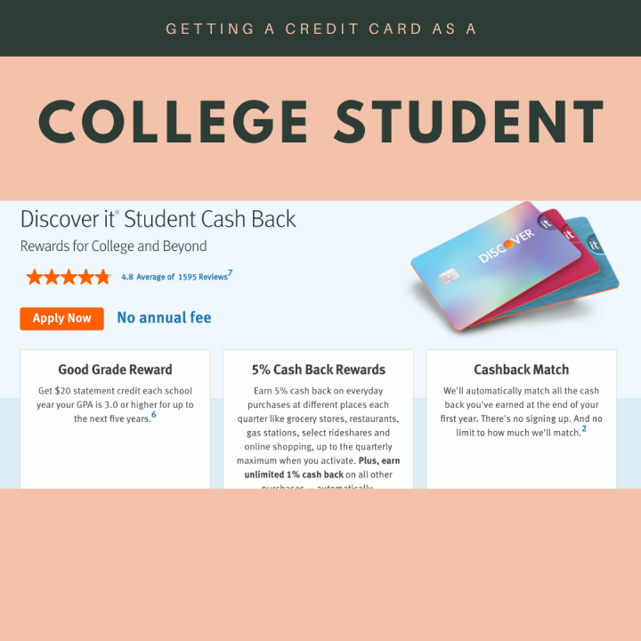 Getting a Credit Card as a College Student