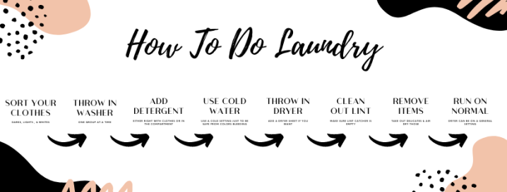 College Laundry Do's & Dont's