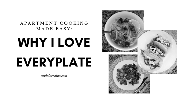 Apartment Cooking Made Easy: Why I love EveryPlate