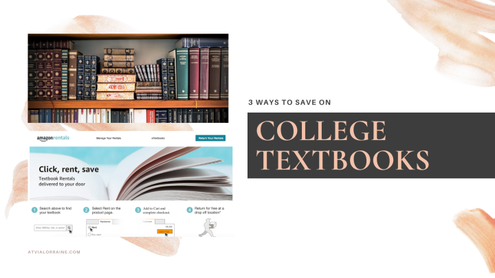 3 Ways to Save on College Textbooks